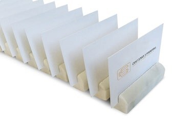 100 Wedding Name Card Holders White Carrara Marble