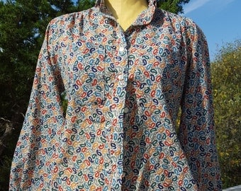 Paisley Blouse by RD #2 Imported Fabric