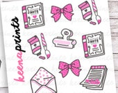 S003 | DOODLE SAMPLER Sheet Stickers Perfect for Erin Condren Life Planner, Filofax, Plum Paper & other planner or scrapbooking