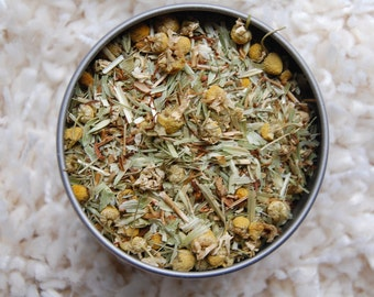 STRESS LESS Organic Herbal Tea Blend, Herbal Tea, Loose Herbal Tea
