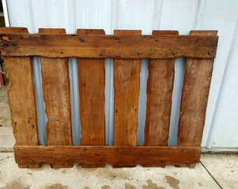 Barnwood Twin Bed Headboard