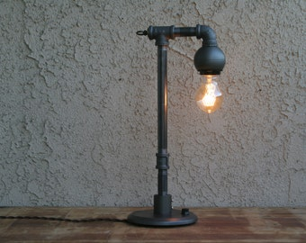 Industrial  table lamp, industrial lighting, industrial style Edison table lamp, Steam punk lamp, Table lamp,Edison bulk lamp,Edison lamp