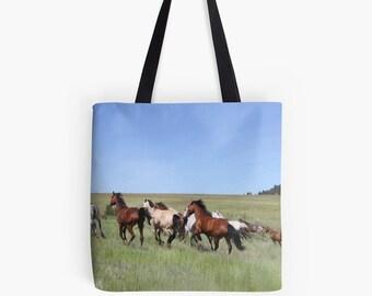 Horse Tote Bag | Horse Bag | Equestrian Bag | Proceeds to Charity | Animal Bag | Nature Tote Bag | Orphan Acres Inc | Animal Tote Bag