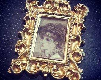 Portrait of a Lady Brooch