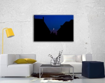 "Canvas ""Blue Night"""