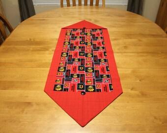 NHL Chicago Blackhawks Table Runner  -table cloth -table topper