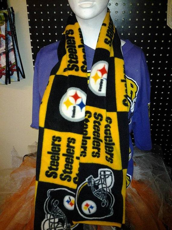 Nfl Sports Double Sided Fleece Scarf Custom Handmade