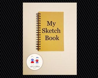 My Sketch Book Notebook