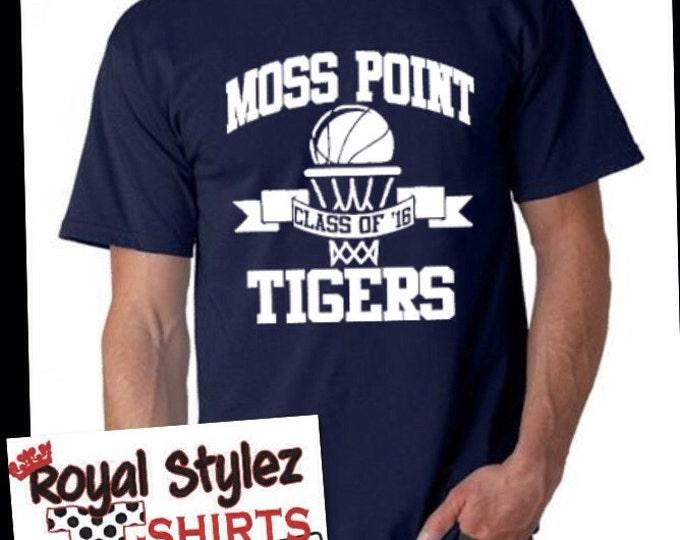 Basketball club tee