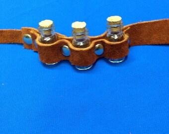 Steampunk small potion strap