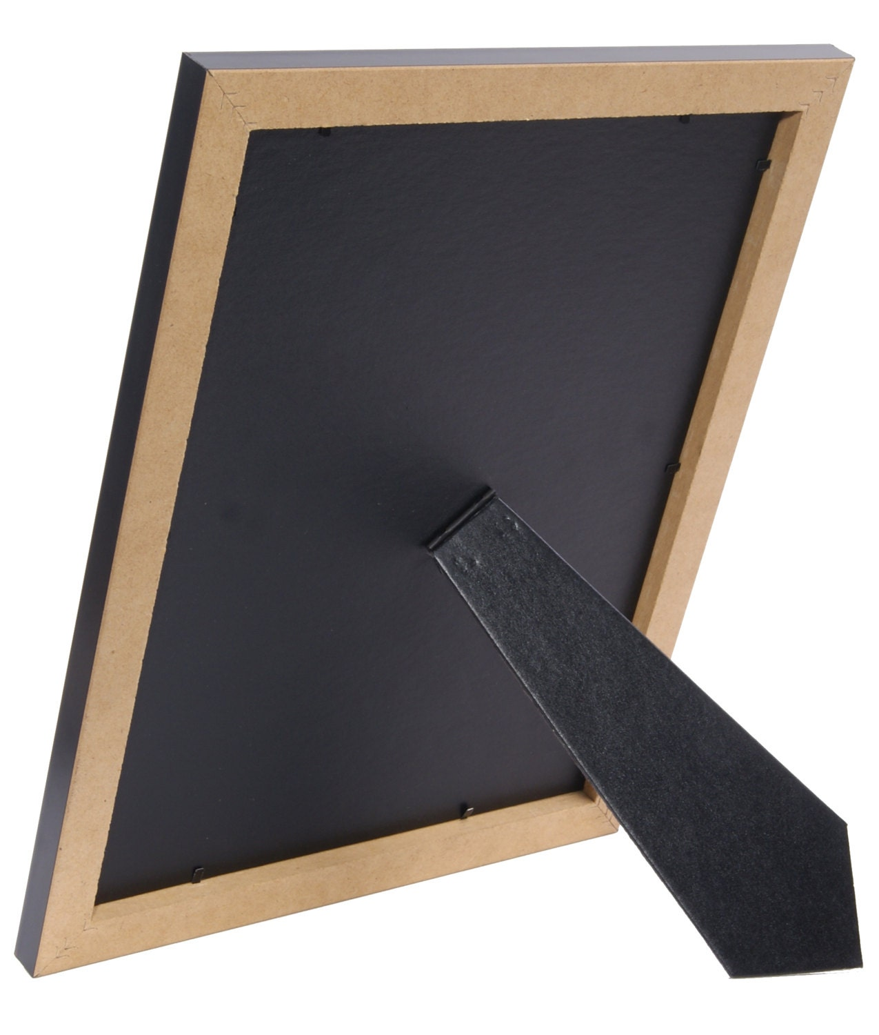 Black Certificate Frame Displays 8 5 By 11 Inch With Mat
