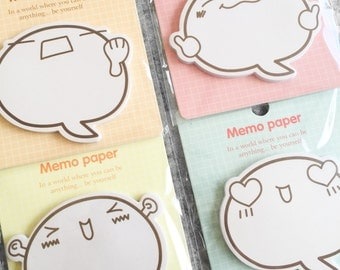Cute, funny post-it | Cute Stationery