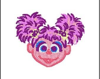 Abby Sesame Street Embroidery Design