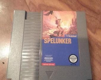 Original NES Nintendo Spelunker - Broderbund 1987