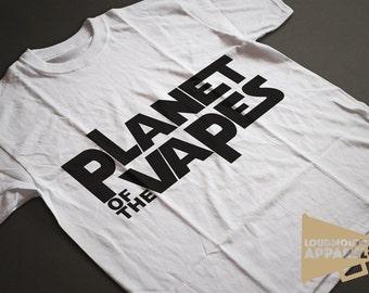 Planet of the Vapes Men's Vaping Shisha E-Cig T-Shirt