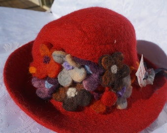 Merino Wool Felting Hat