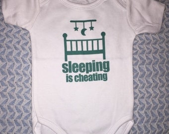 Sleepingn is cheating vest age 0/3 months