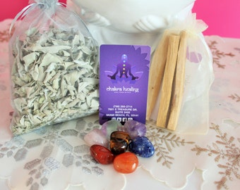 Chakra Healing Starter Kit infused with Reiki