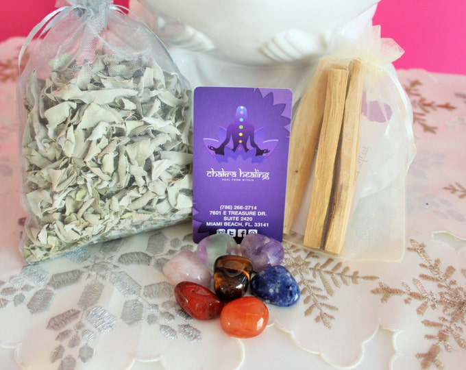 Featured listing image: Chakra Healing Starter Kit infused with Reiki