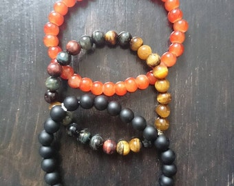 x3 beaded bracelet set