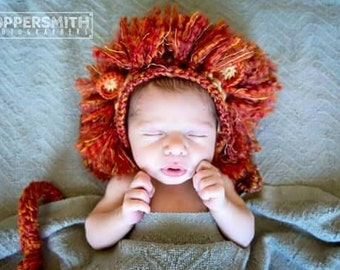 Lion baby set