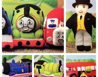 Thomas The Tank Engine & Friends Toys BARGAIN PRICE Knitting Pattern