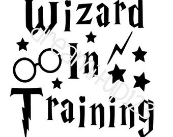 Wizard in Training Harry Potter Digital Download