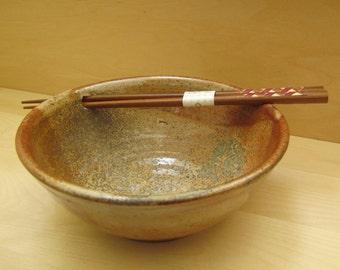 Handmade Pottery Bowl, Farmhouse Pottery, Salad bowl, Dessert Bowl, 6,5 inch Bowl, Kitchen Gift, Stoneware Bowl, Handmade bowl
