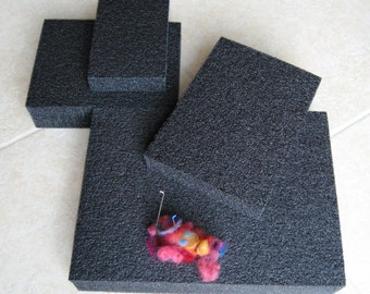 Needle felting mat. High Density Felting mat, Top quality mat for felting & Eco-friendly foam pad. Try it!