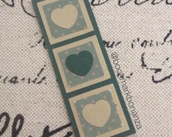 Vintage Heart Bookmark