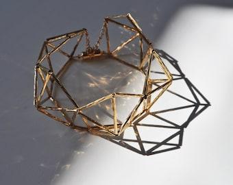 himmeli bracelet gold