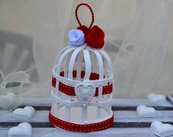 birds cages / shabby chic / home decor