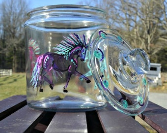 Scribble Pony Cookie Jar