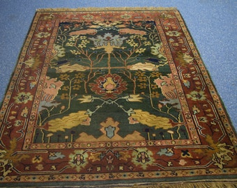 Beautiful hand knotted Afghan rug