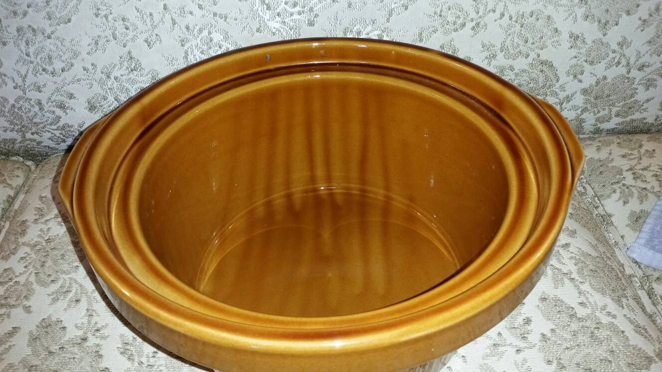 Rival Crock Pot 5 Quart Replacement Ceramic Insert Bowl