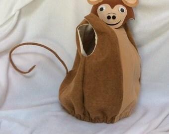 Monkey costume, Childs costume, Hallloween costume