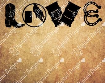Barrel Racing  Love Svg Png Dxf Eps Fcm Cut file for Silhouette, Cricut, Scan n Cut Barrel Racing SVG, Horse SVG