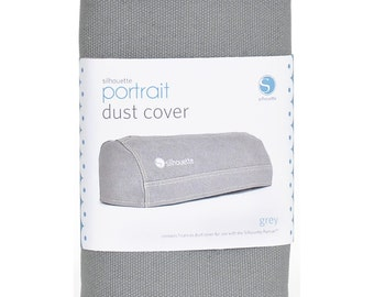 Silhouette Portrait Dust Cover