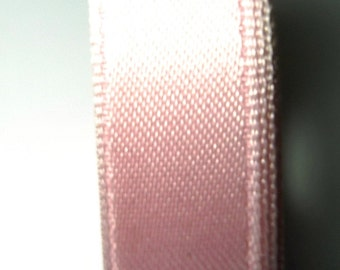 30 meters Satin ribbon 6mm light pink