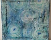 Forgiven - Acrylic on canvas 30 x 30