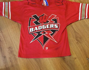 Vintage Wisconsin badgers T-shirt size large