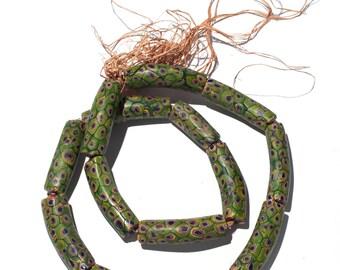 Murano trade beads Millefiori