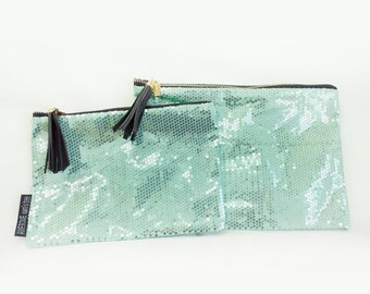 Dashing Spangle Pouch, Tassel Clutch,Spangle Clutch Bag, Gorgeous Pouch, Leopard Pouch, Daily Pouch.