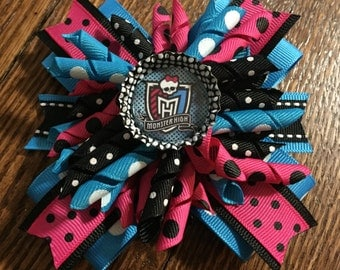 Monster High Korker Stacked Hair Bow