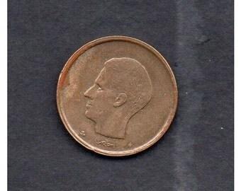 Belgium 1981. 20 franc Coin