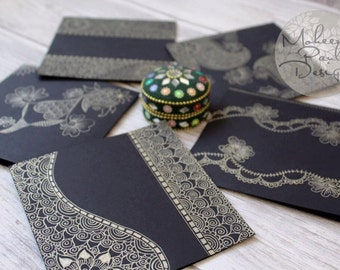 Licorice Gold Henna Card Pack