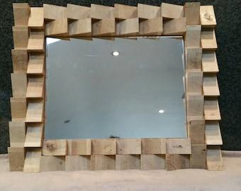 Oak mirror mosaic