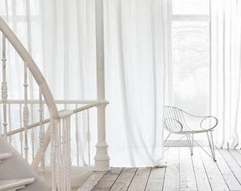 white linen curtain panelwindow curtain panellinen panelwindow treatments rod