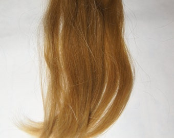Remy clip on human hair extension virgin blonde
