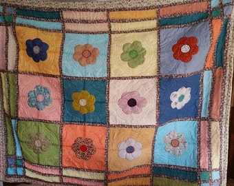 Flower Quilt- Twin